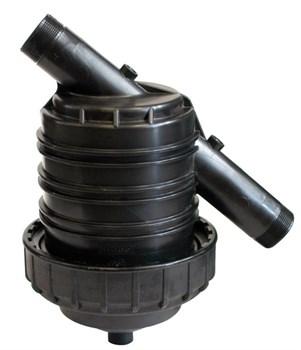 """Фильтр пластиковый """"G"""" Irritec-YGG, 2""""НР, 130 мк, S=820 см², метал. сетка - фото 10045"""