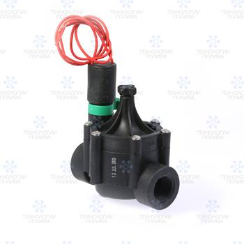 """Клапан электромагнитный Irritrol, EURO-F, 24В, пластиковый, 3/4""""ВР, рег. потока - фото 11597"""