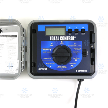 Контроллер Irritrol TOTAL CONTROL, наружный, 36 зон, метал. корпус - фото 11688