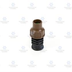 """Rain Bird BF-62-50 lock - муфта компрессионная 1/2"""" ВР для трубки 16 мм - фото 12810"""
