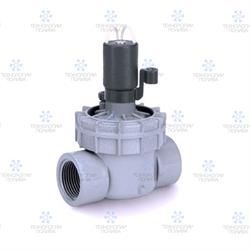 """Клапан электромагнитный Irritrol 2400 MTF, 24В, 1""""ВР, пластиковый, рег. потока - фото 12930"""