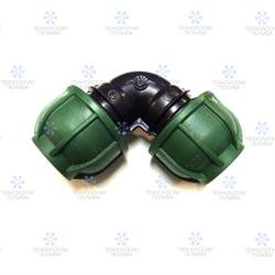 Отвод компрессионный Irritec Премиум  90х90 мм - фото 13052