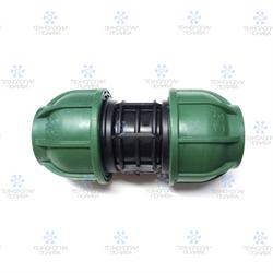 Муфта компрессионная Irritec Премиум  Муфта 32х32 мм - фото 13186