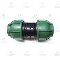 Муфта компрессионная Irritec Премиум Муфта  63х63 мм - фото 13189