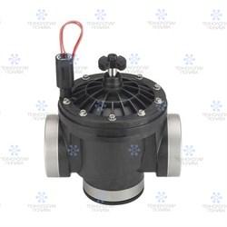 """Клапан электромагнитный Hunter 24В, 2""""ВР, ICV-201G-B, пластиковый - фото 13538"""
