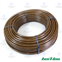 Трубка капельная Rain Bird XF16 мм, коричневая, бухта 100 м (слепая) - фото 13828