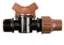 "Rain Bird BF valve lock - кран для капельных линий 3/4"" НР - фото 14345"