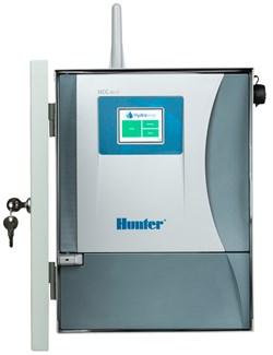 Hunter-HCC-800 базовая модель на 8 станций, серый металл, для наружного монтажа, настенное крепление - фото 14581