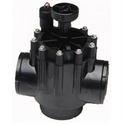 """Клапан электромагнитный Toro 252-26-58, 2""""ВР, 24 В, рег. потока, пластиковый - фото 8864"""