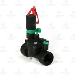 "Клапан электромагнитный  Irritrol E-pic, 24В, пластик, 1""ВР, регулятор потока"