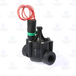 """Клапан электромагнитный Irritrol, EURO-F, 24В, пластиковый, 3/4""""ВР, рег. потока"""