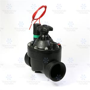 """Клапан электромагнитный Irritrol S050, 24В, 2""""ВР, пластиковый, рег. потока"""