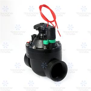 """Клапан электромагнитный Irritrol S040, 24В,  1.5""""ВР, пластиковый, рег. потока"""