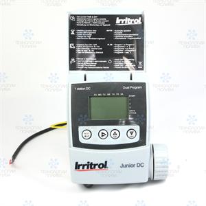 Irritrol Junior JRDC-2-R - контроллер автономный, 2 зоны,  без соленоида