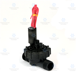 "Клапан электромагнитный Hunter,  24В, PGV-101JT-MMB, пластик, 1""НР, рег. потока"