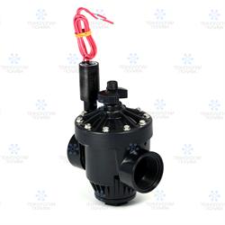 """Клапан электромагнитный Hunter,  24В, PGV-151-B, пластик, 1.5""""ВР, рег. потока"""