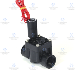 """Клапан электромагнитный Hunter,  24В, PGV-100G-B, пластиковый, 1""""ВР"""