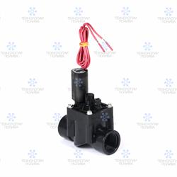 """Клапан электромагнитный Hunter,  24В, PGV-101G-B, пластиковый, 1""""ВР, рег. потока"""
