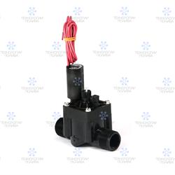 """Клапан электромагнитный Hunter,  24В, PGV-101-MMB, пластик, 1""""НР, рег. потока"""