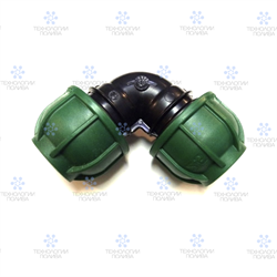 Отвод компрессионный Irritec  Премиум 75х75 мм
