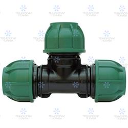 Тройник компрессионный Irritec  Премиум 25х25х25 мм