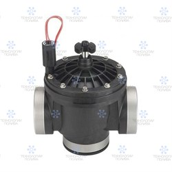"""Клапан электромагнитный Hunter 24В, 2""""ВР, ICV-201G-B, пластиковый"""