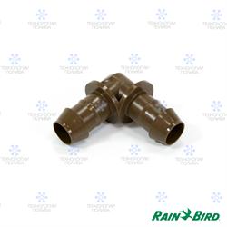Угловой штуцер 17мм Rain Bird XFF-Elbow для капельных линий XF