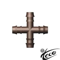 Крестовина Cross 104814 Teco для капельной линии DB 17 мм