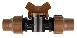 Rain Bird BF-92 lock - кран компрессионный для капельных линий XF/трубки 16 мм
