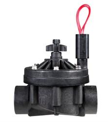 """Клапан электромагнитный Hunter  24В, 1.5""""ВР, ICV-151G-B-Fs, регул. потока, пластиковый"""