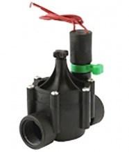 """Клапан электромагнитный Irritrol EURO-F, без соленоида, 1""""ВР, рег. потока, пластиковый"""